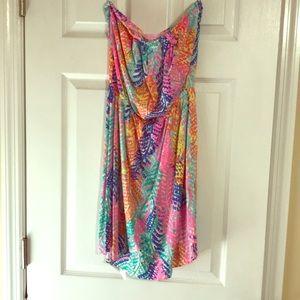 Size medium strapless dress